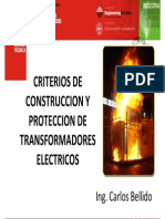 4. Criterios de Construcción y Protección de Transformadores Eléctricos