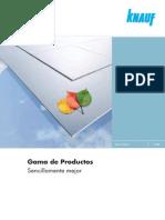 Gama de Productos (Noviembre 2008)