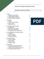 Perfil Comportamental e Avaliao de Preferncia Cerebral - EDITADO