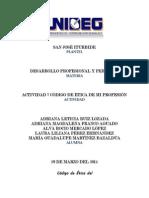 Código de Ética del Licenciado en Administración en la Universidad del SABES