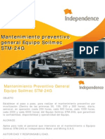 Mantenimiento Preventivo General Equipo Soilmec Stm-24g