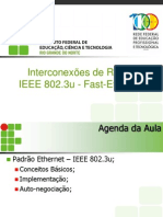 Ir - Aula 05 - Padrao Fast-eterneth Ieee 803.2u
