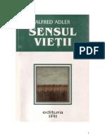 Sensul Vietii-Alfred Adler
