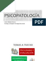 Psicopatología Clase 1