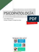 Psicopatología Clase 3