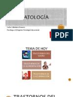 Psicopatología Clase 8 y 9