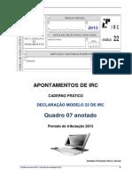 Caderno Mod 22-2014-IRC 2013