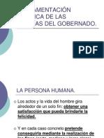 I.- FUNDAMENTACIÓN FILOSÓFICA DE LAS GARANTÍAS DEL GOBERNADO.
