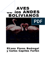 Aves de Los Andes Bolivianos
