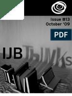 IJB Thinks No13 Oct '09