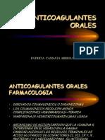 ANTICOGULANTES ORALES