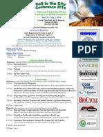 Soil in the City 2014 Program With Tour Description