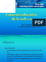 Contexto Educativo de La Web 2.0