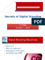 Digital Branding-Presented 10-21-09