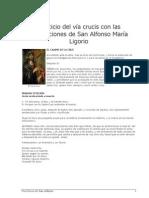 El via Crucis de San Alfonso