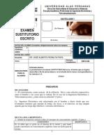 E.susti. Castellano I . Prof Peralta