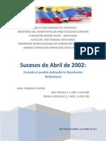 Sucesos de Abril de 2002