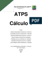 ATPS Cálculo 1