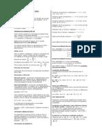 Resumen PSU Matemáticas (Opcion 4)