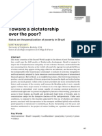 Loic Wacquant - Toward a Dictatorship Over the Poor