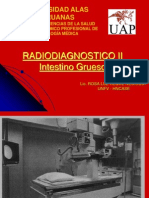 Radiodiagnostico Del Intestino Grueso
