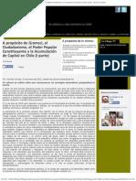 A propósito de Gramsci, el Ciudadanismo, el Poder Popular Constituyente y la Acumulación de Capital en Chile (I parte)_Marcelo Cornejo