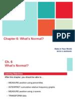 Statistics -- Normal Distribution