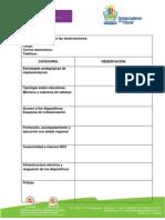 Anexo 3 Formato de Observaciones 2014
