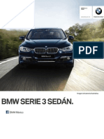 Ficha Tecnica BMW 320iA Sedan Automatico 2014