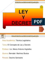 4ley y Decreto