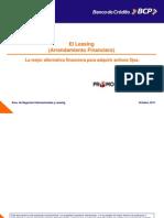 El Leasing La Mejor Alternativa Financiera - BCP