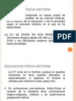 EDUCACION FÍSICA-HISTORIA