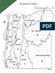 Oregon Eco County Map