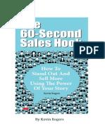 60 Second Sales Hook