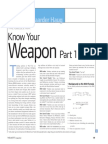 Know Your Weapen - Espen Haug
