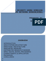 border security using wisenet