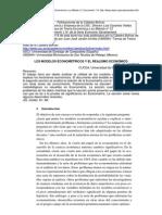 Cortez - Los Modelos Econometricos y El Realismo Economico