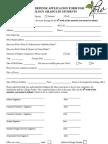 Thesis Defense Application Form for Biology Grads 2013-2