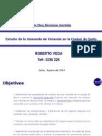 Demanda Quito 2010