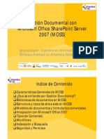 Gestion Documental MOSS 2007