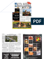 "Kuta Weekly- Edition 381 ""Bali's Premier Weekly Newspaper"""