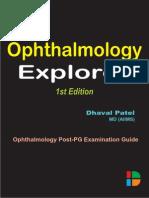 Ophthalmology Explorer 1st Edition