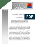 Maritain J - Heroismo y Humanismo
