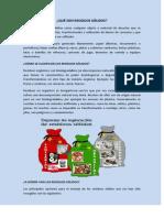 Semana 11 - Gestión de los Residuos Sólidos