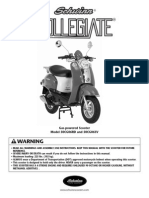 50cc Collegiate Owner Manual
