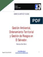 Gestión Ambiental, OT y Riesgo en ES