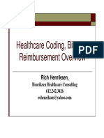 Healthcare Coding Billing Reimbursement Overview