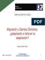 Migraciones y el Cambio Climático