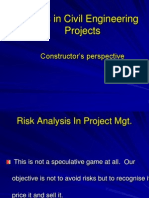 Risks  Risks In Construction