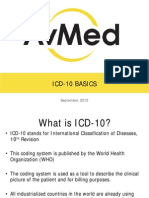 ICD 10 Basics